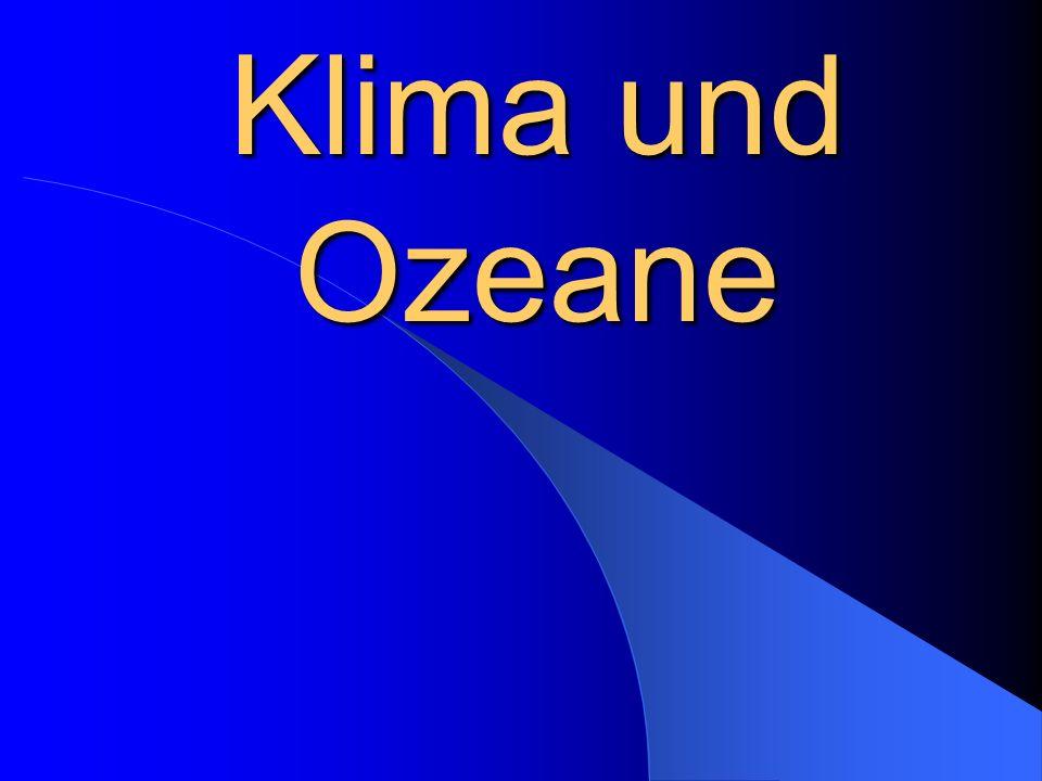 Klima und Ozeane