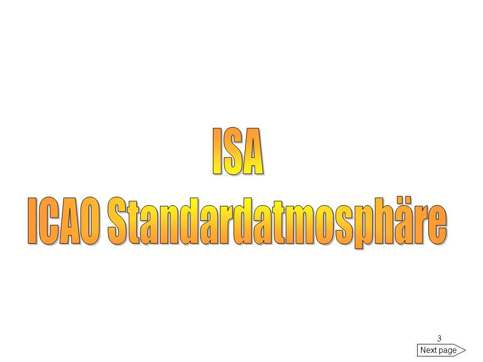 ICAO Standardatmosphäre