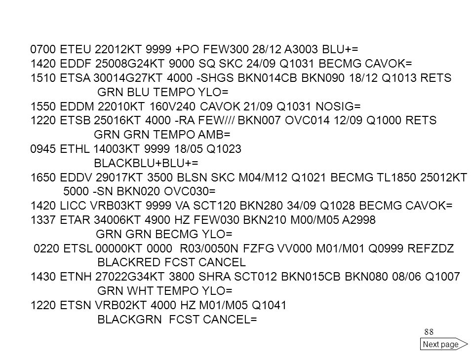 1420 EDDF 25008G24KT 9000 SQ SKC 24/09 Q1031 BECMG CAVOK=