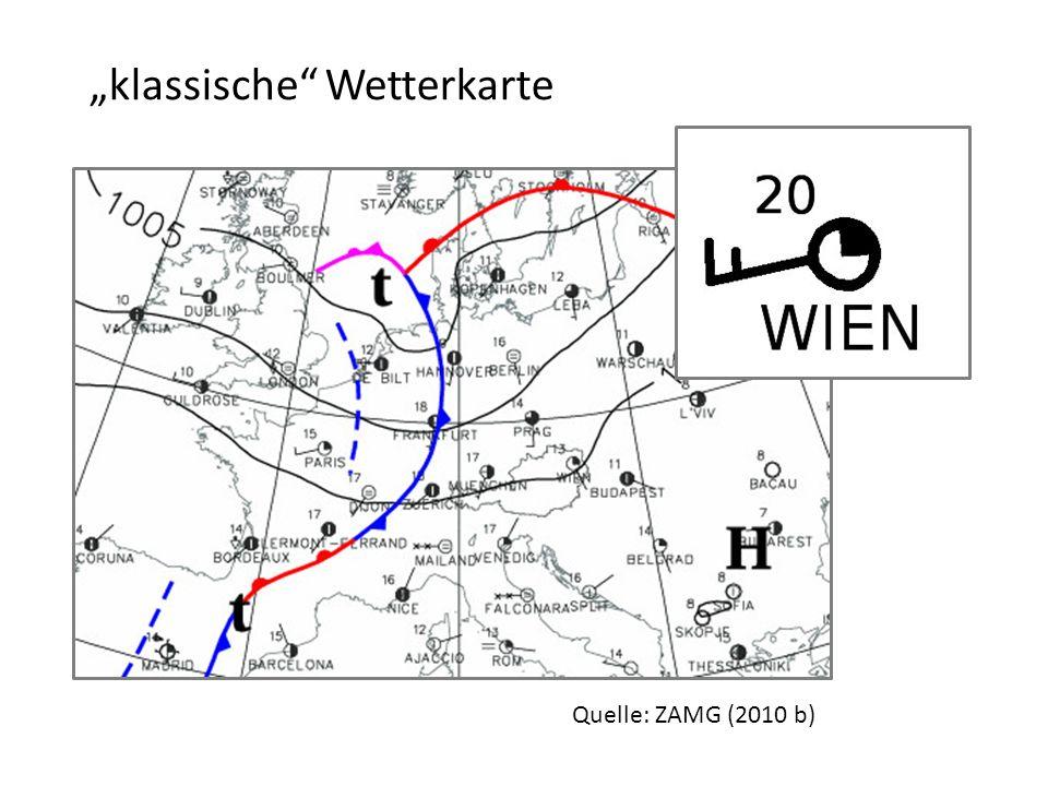 """""""klassische Wetterkarte"""