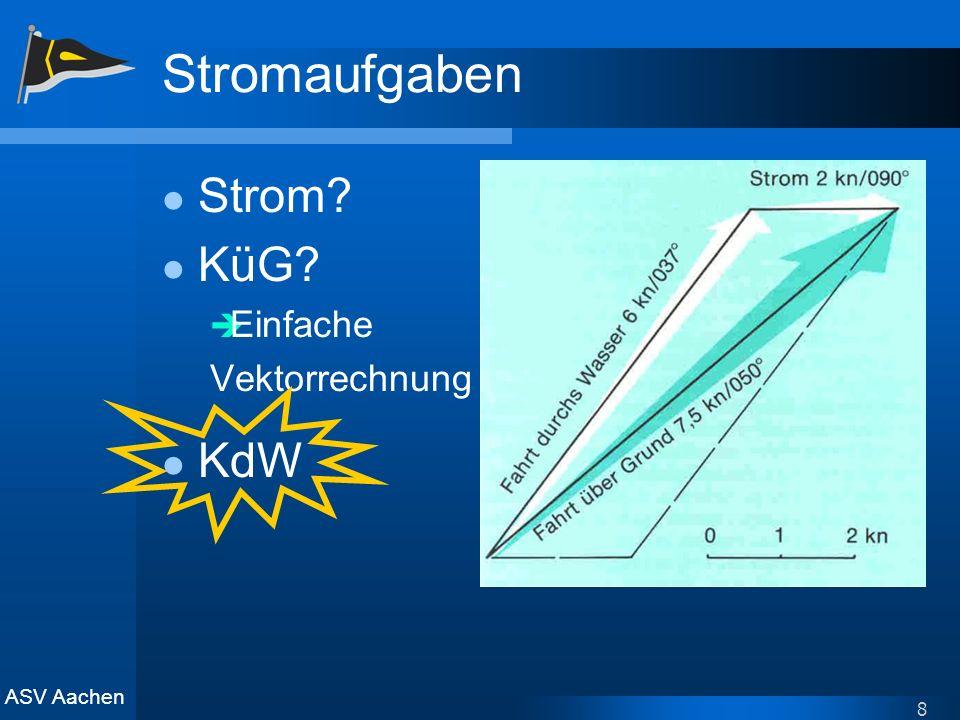 Stromaufgaben Strom KüG Einfache Vektorrechnung KdW