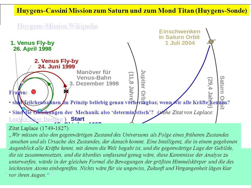 Leitthema: Wie gut lassen sich Teilchenbahnen vorhersagen