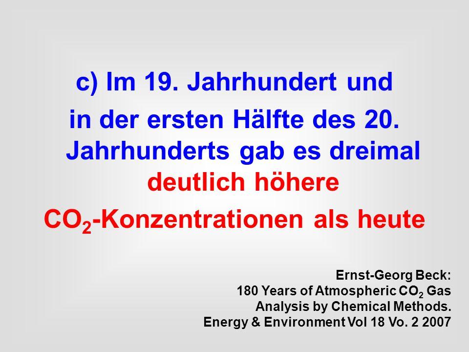 CO2-Konzentrationen als heute