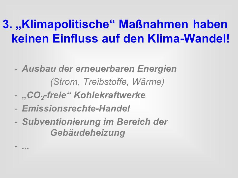 """3. """"Klimapolitische Maßnahmen"""