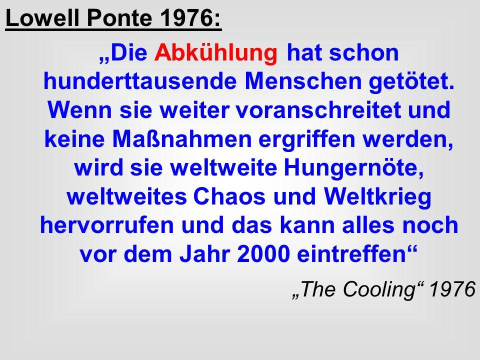 Lowell Ponte 1976: