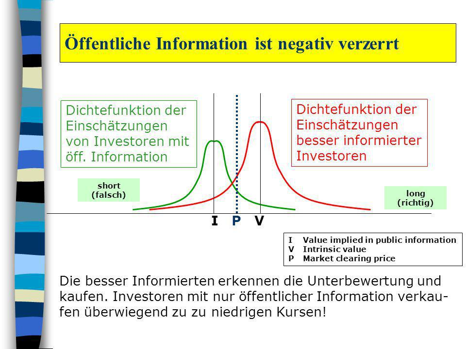 Öffentliche Information ist negativ verzerrt
