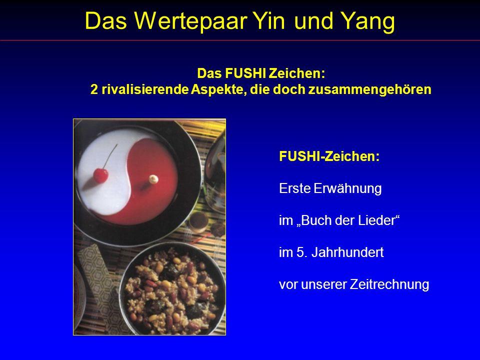 Das Wertepaar Yin und Yang