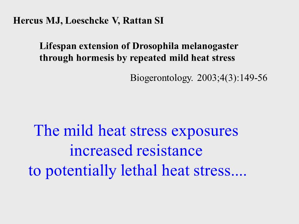The mild heat stress exposures increased resistance