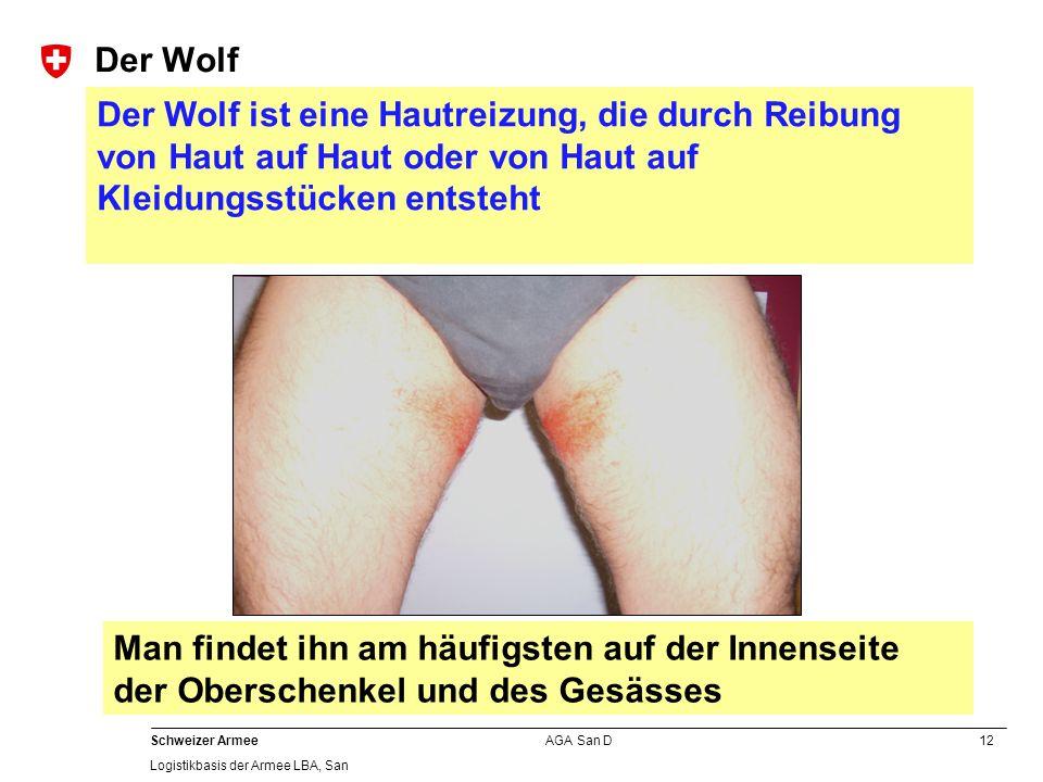 Der Wolf Der Wolf ist eine Hautreizung, die durch Reibung von Haut auf Haut oder von Haut auf Kleidungsstücken entsteht.