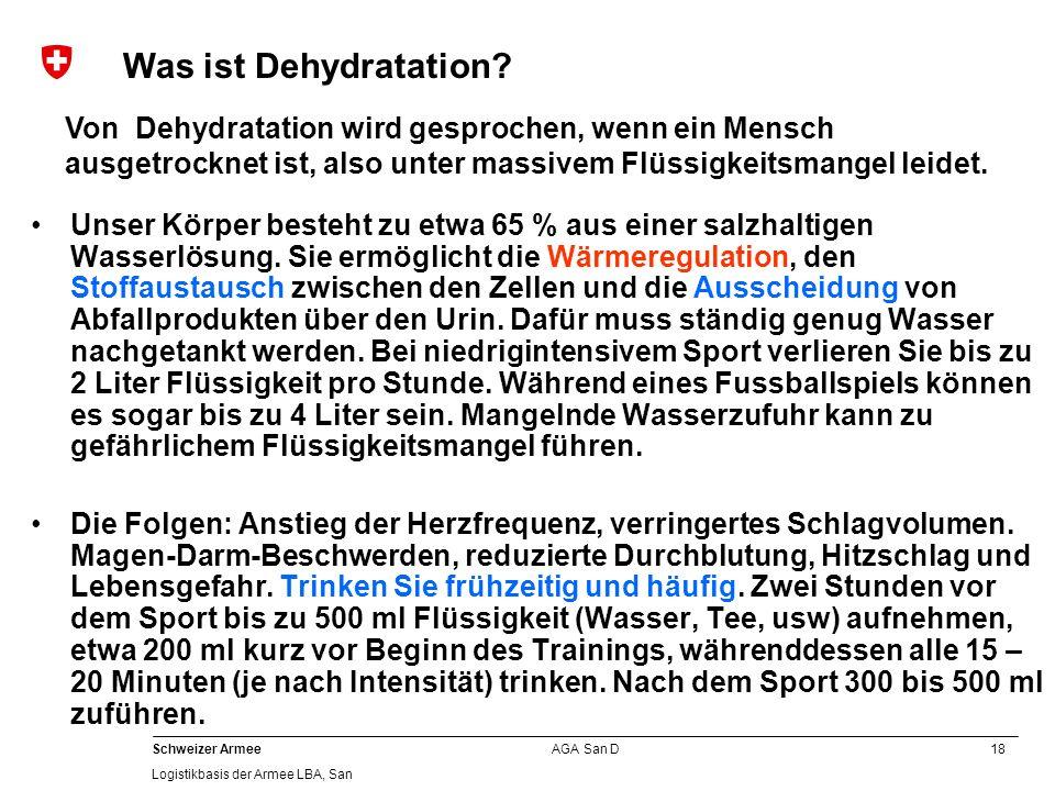 Was ist Dehydratation Von Dehydratation wird gesprochen, wenn ein Mensch ausgetrocknet ist, also unter massivem Flüssigkeitsmangel leidet.