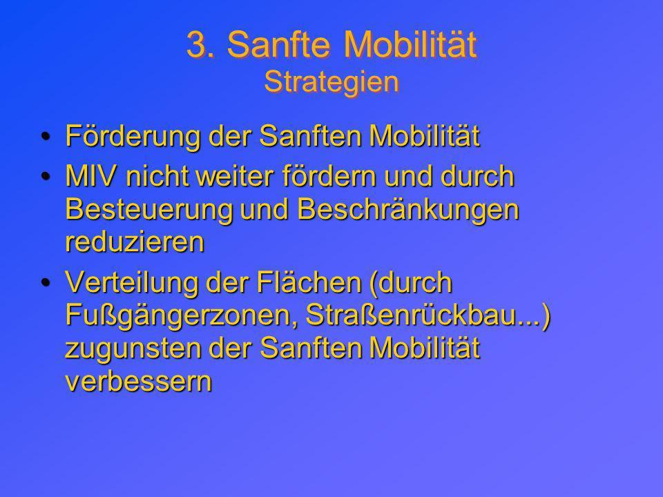 3. Sanfte Mobilität Strategien