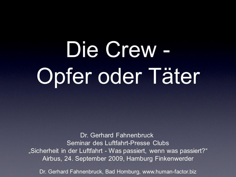 Die Crew - Opfer oder Täter
