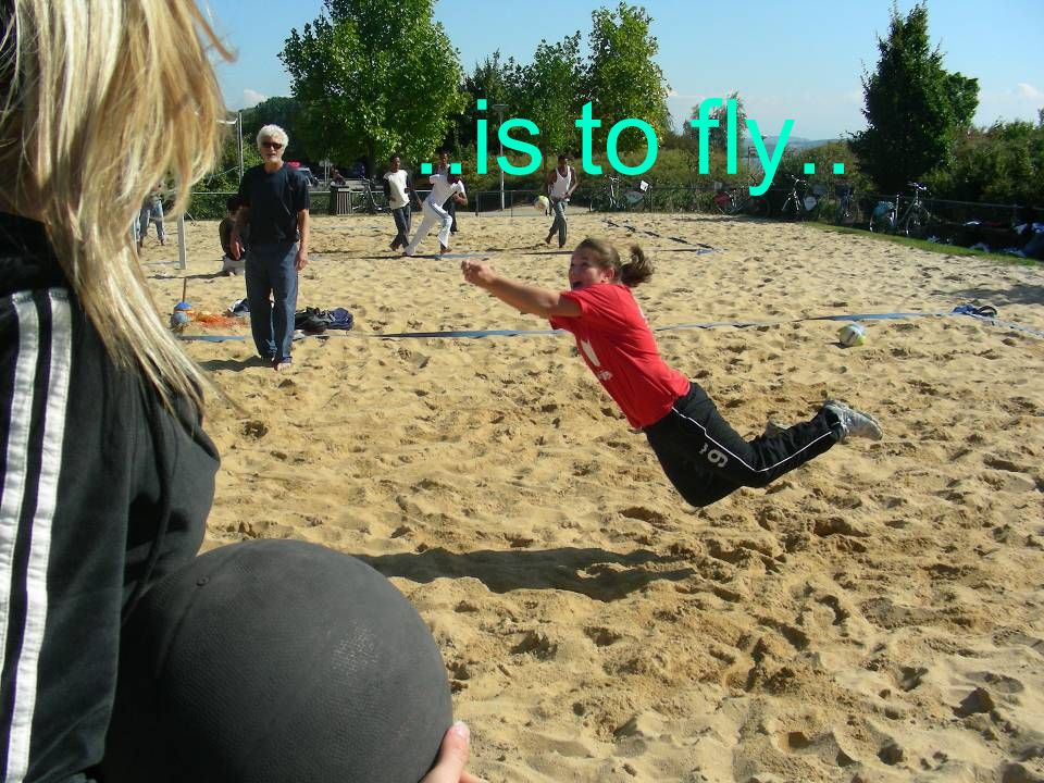 ..is to fly..