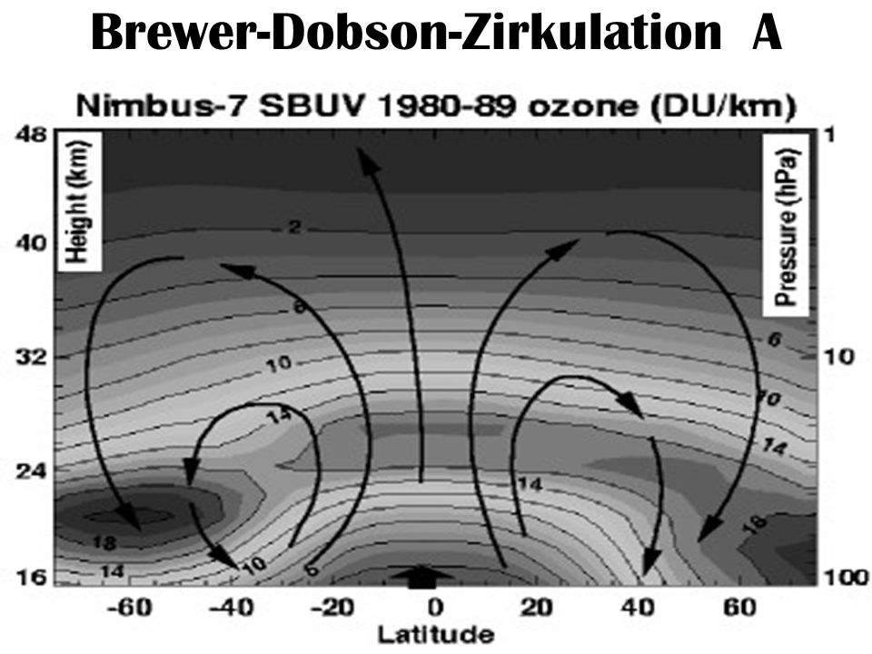 Brewer-Dobson-Zirkulation A
