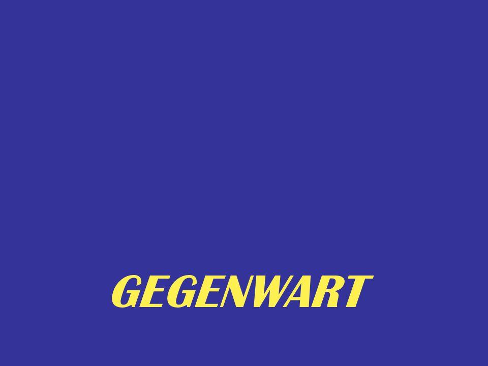 Gegenwart GEGENWART