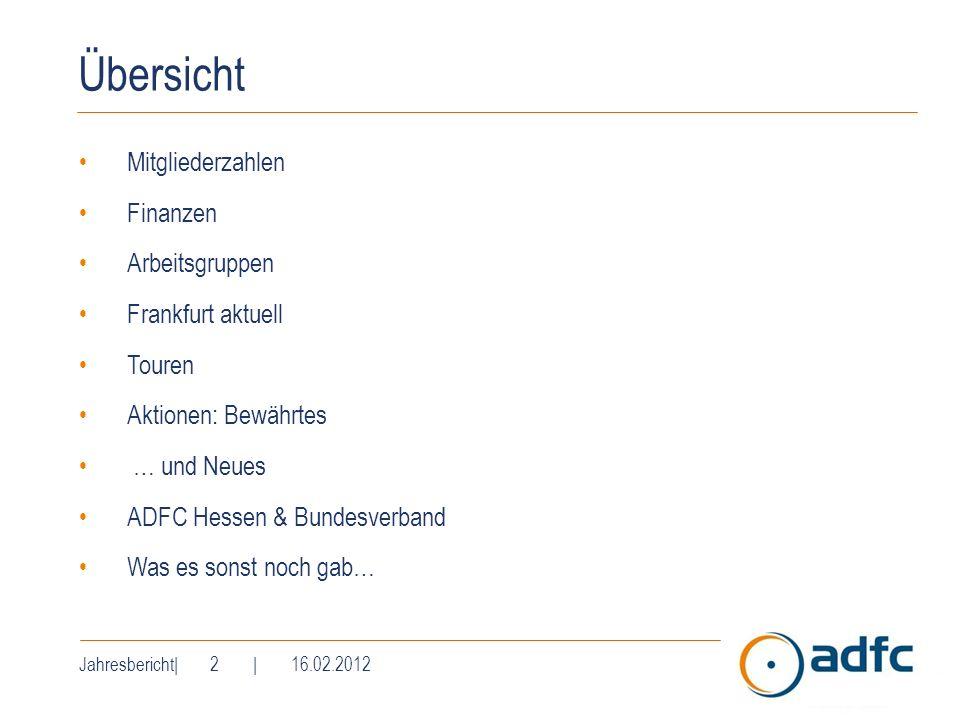 Übersicht Mitgliederzahlen Finanzen Arbeitsgruppen Frankfurt aktuell