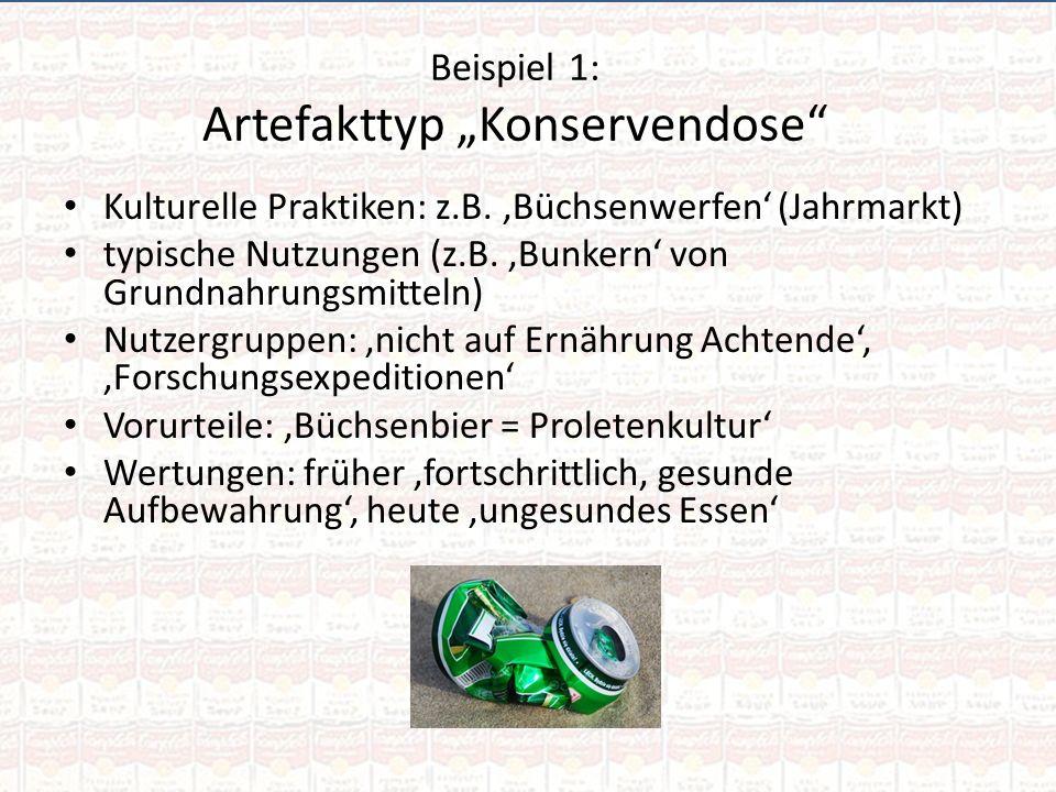 """Beispiel 1: Artefakttyp """"Konservendose"""
