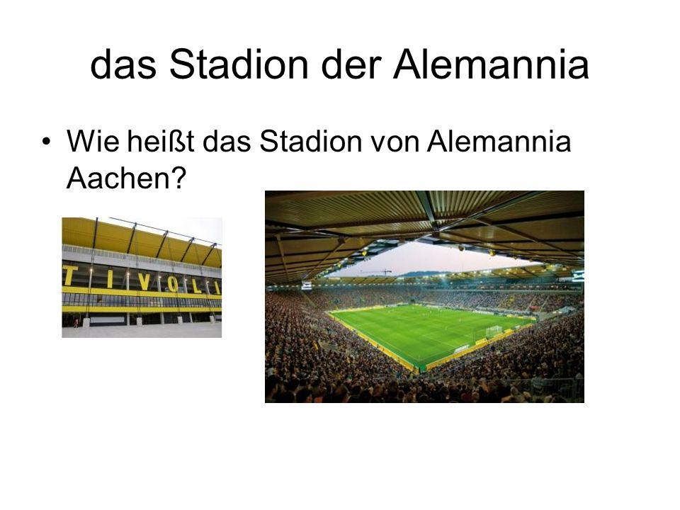 das Stadion der Alemannia