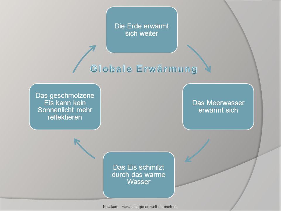 Globale Erwärmung Nawikurs www.energie-umwelt-mensch.de