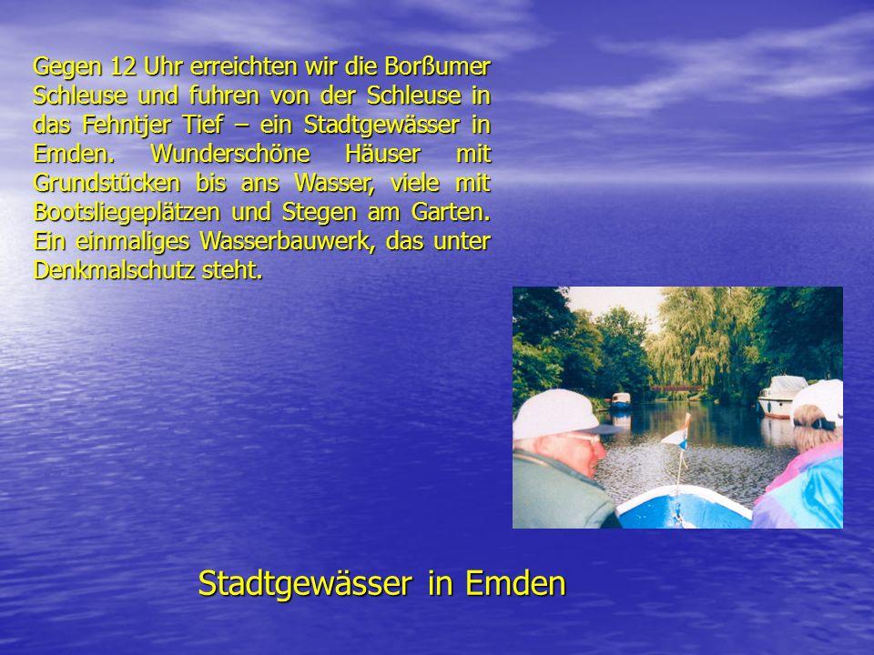 Stadtgewässer in Emden