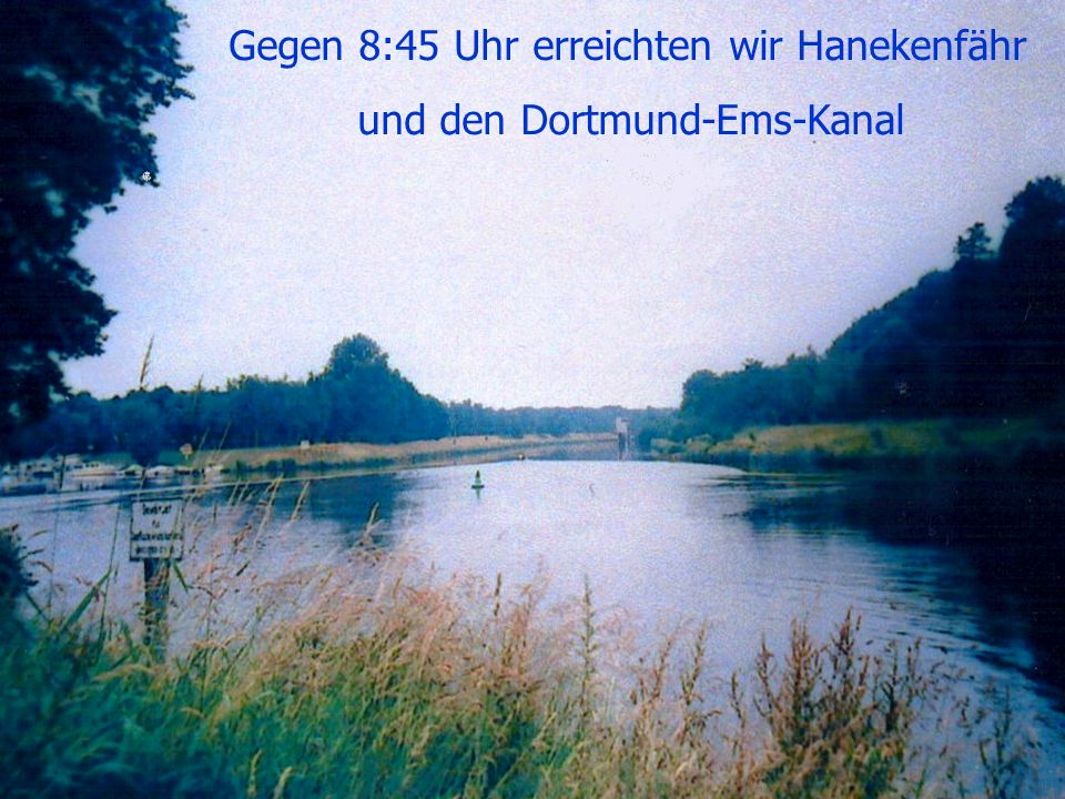 und den Dortmund-Ems-Kanal