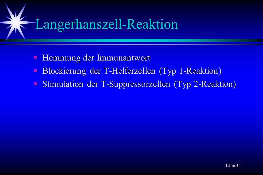 Langerhanszell-Reaktion