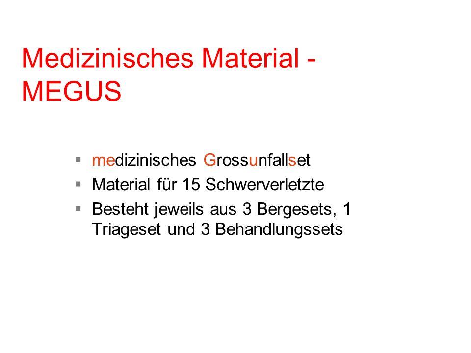 Medizinisches Material - MEGUS