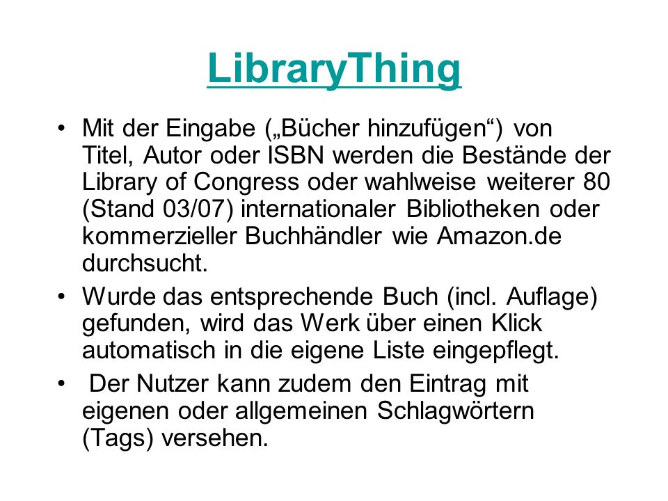 LibraryThing