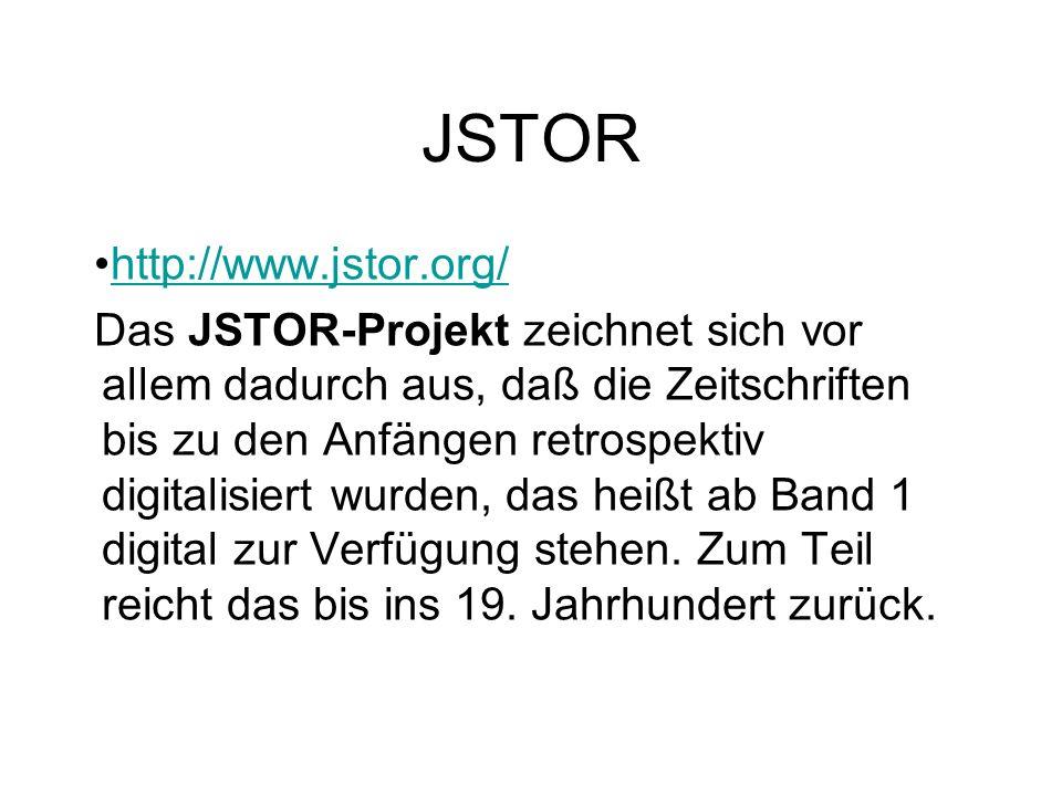 JSTOR http://www.jstor.org/