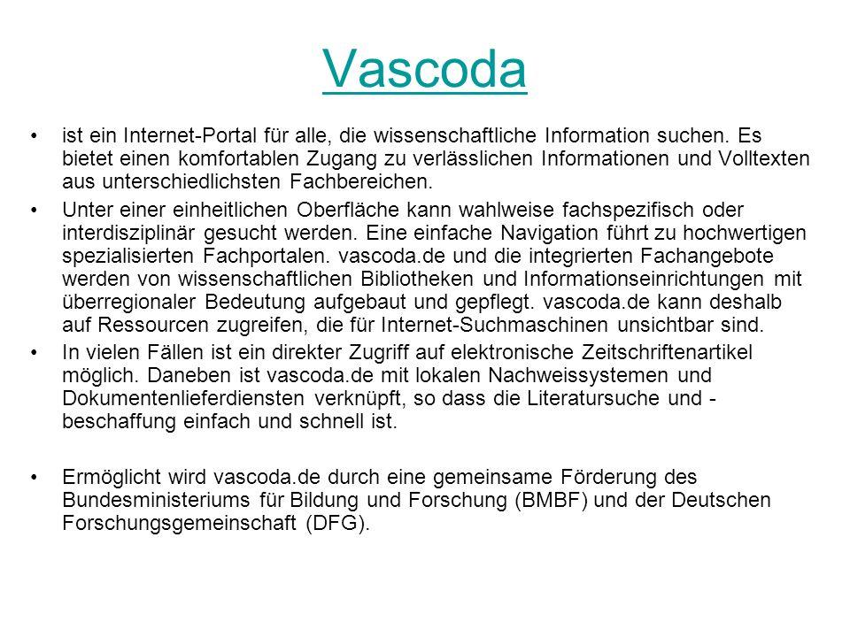 Vascoda