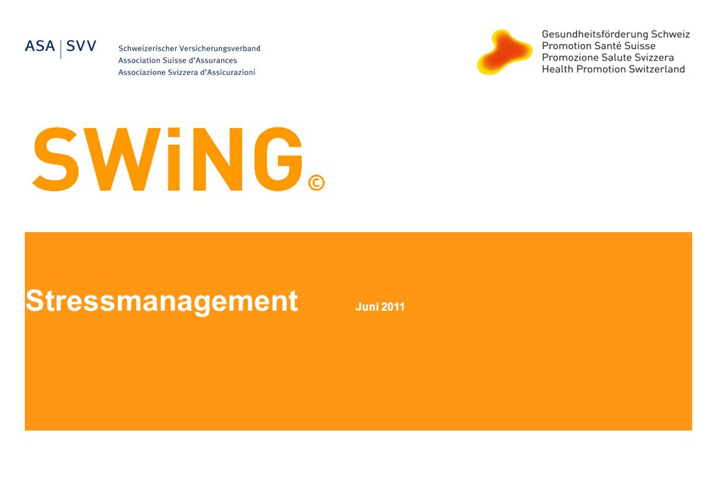 Stressmanagement Juni 2011