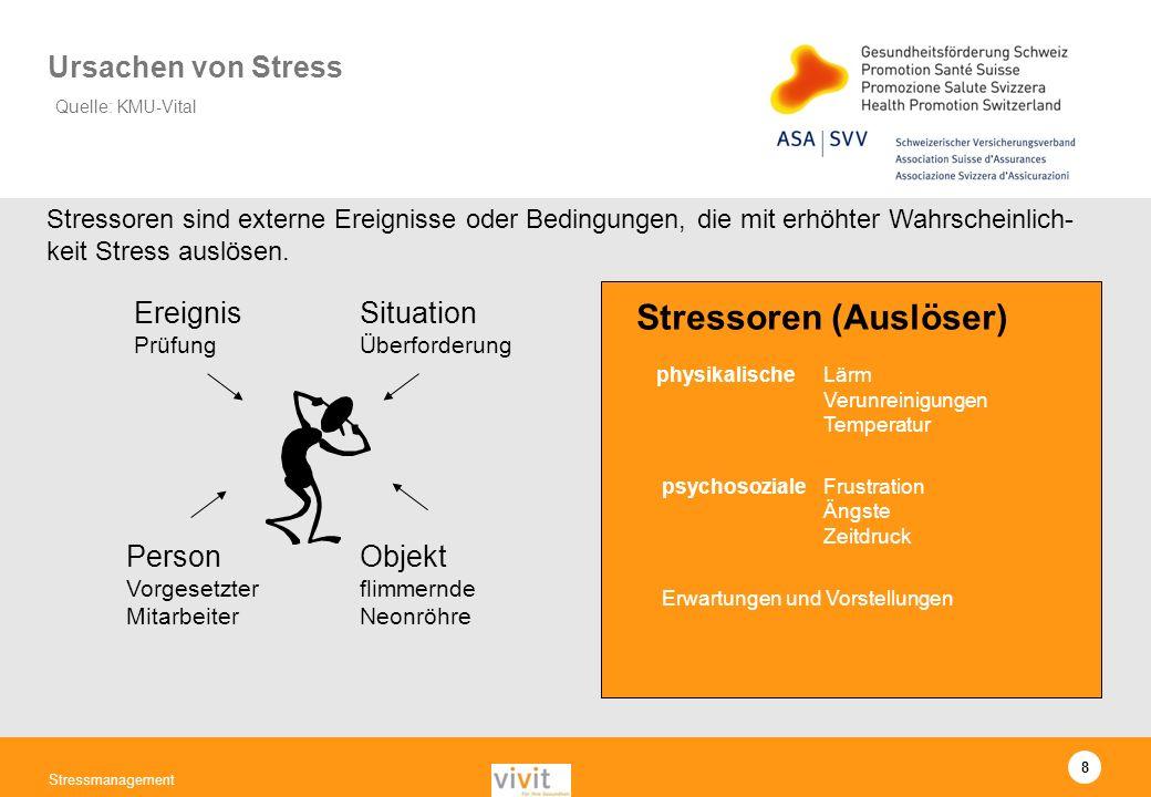 Stressoren (Auslöser)