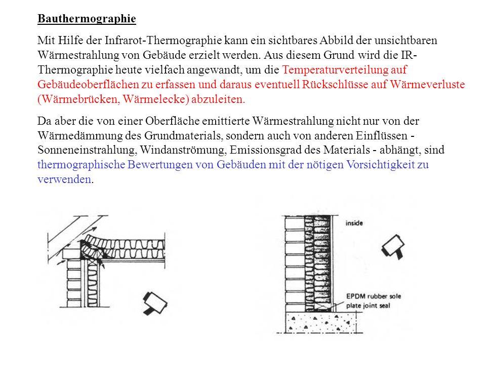 Bauthermographie