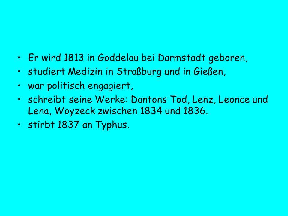 Er wird 1813 in Goddelau bei Darmstadt geboren,