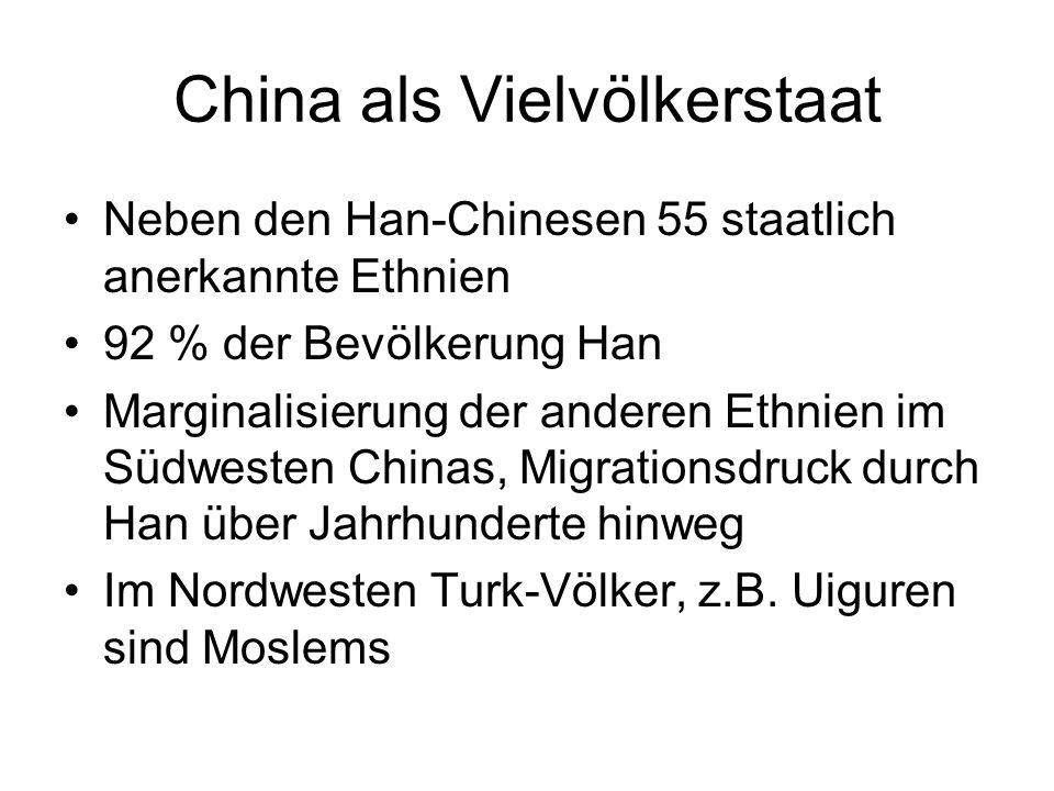 China als Vielvölkerstaat