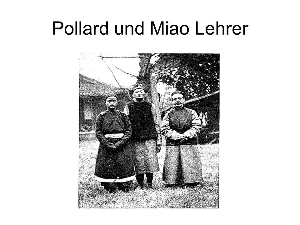 Pollard und Miao Lehrer