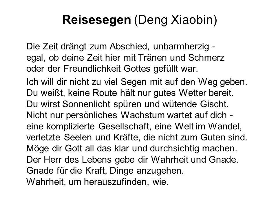 Reisesegen (Deng Xiaobin)