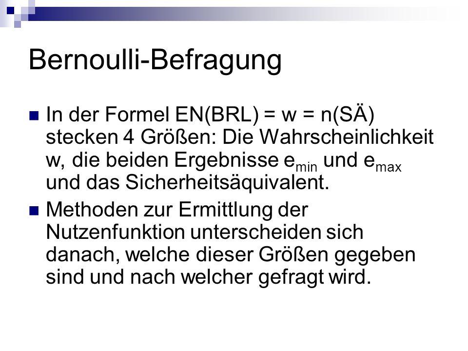 Bernoulli-Befragung