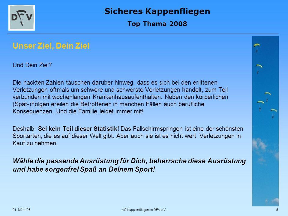 AG Kappenfliegen im DFV e.V.