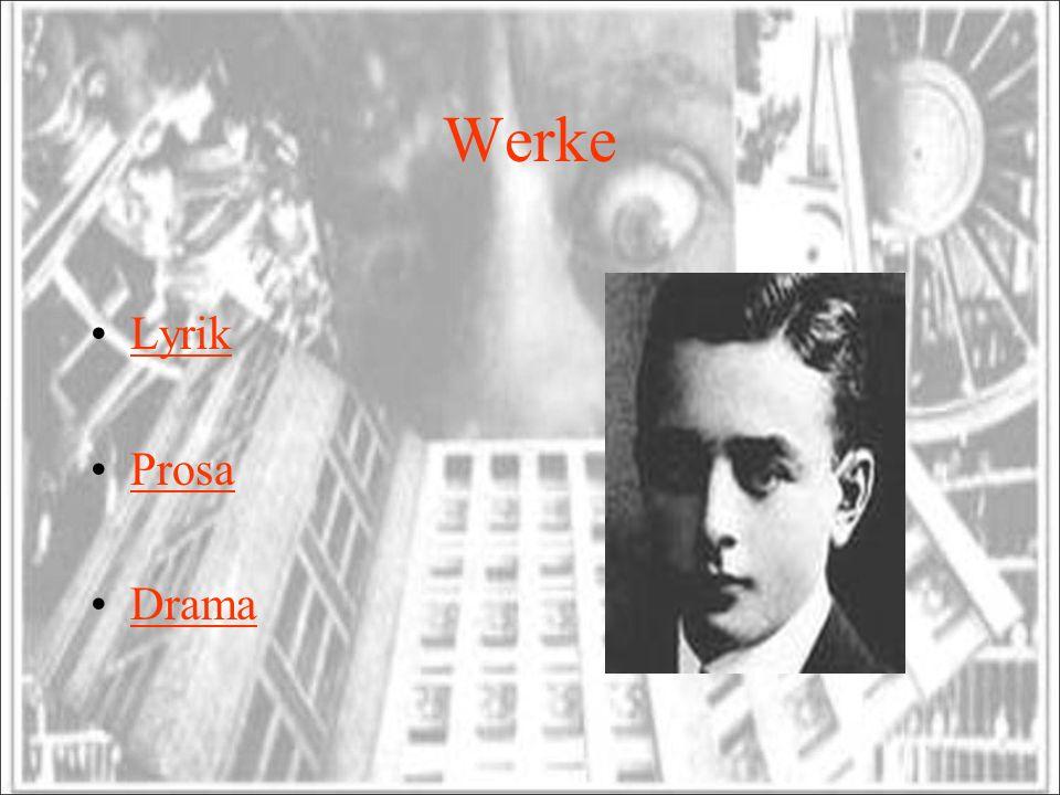 Werke Lyrik Prosa Drama
