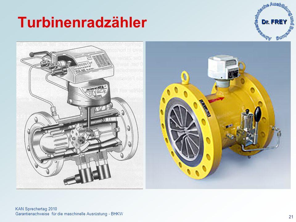 Turbinenradzähler
