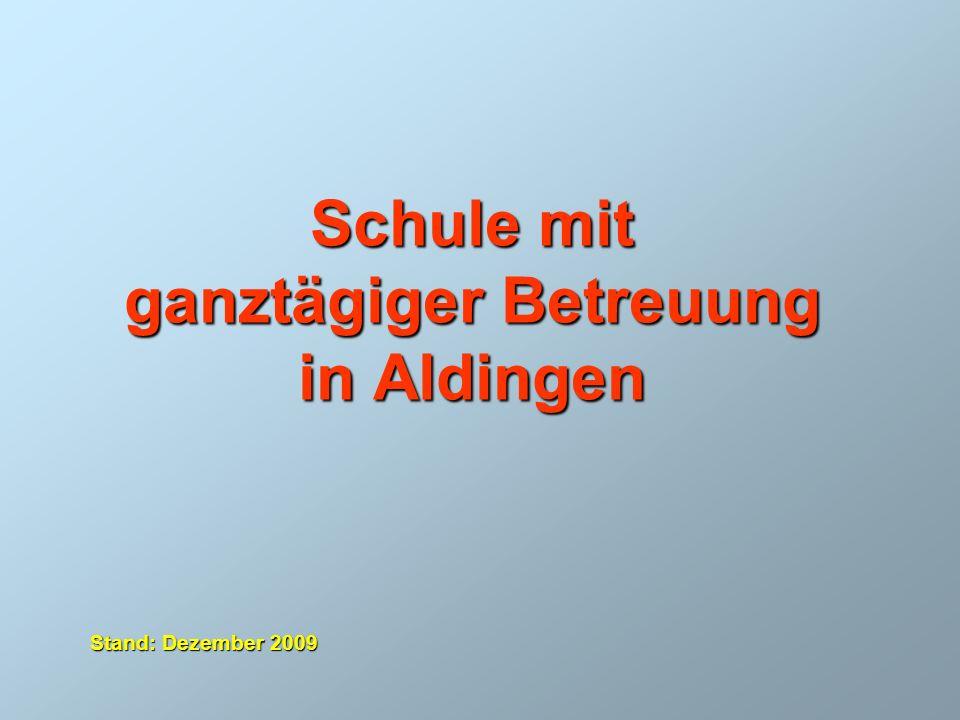 Schule mit ganztägiger Betreuung in Aldingen