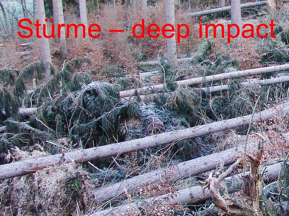 Stürme – deep impact