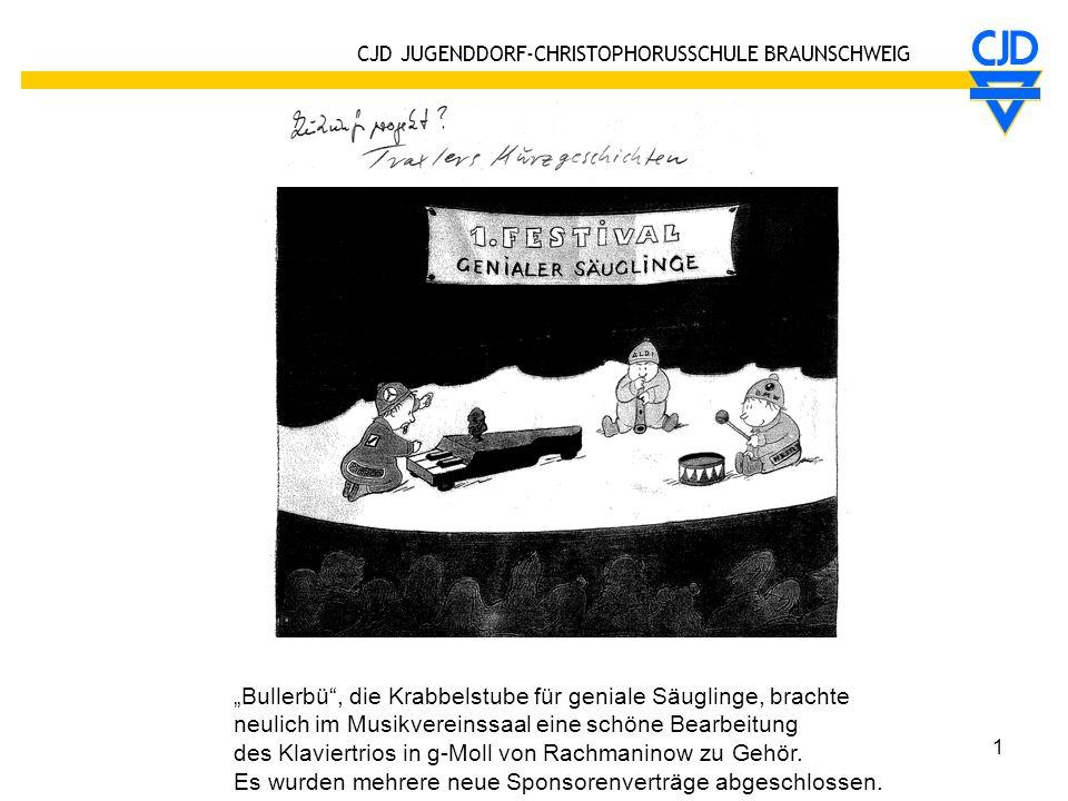 """Bullerbü , die Krabbelstube für geniale Säuglinge, brachte"