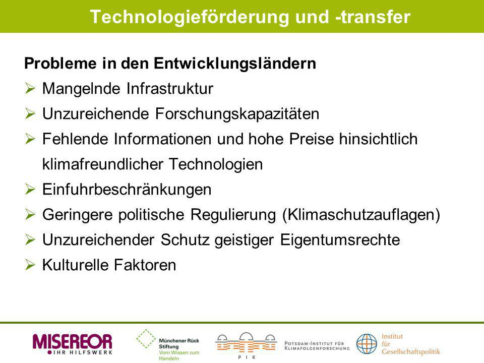 Technologieförderung und -transfer