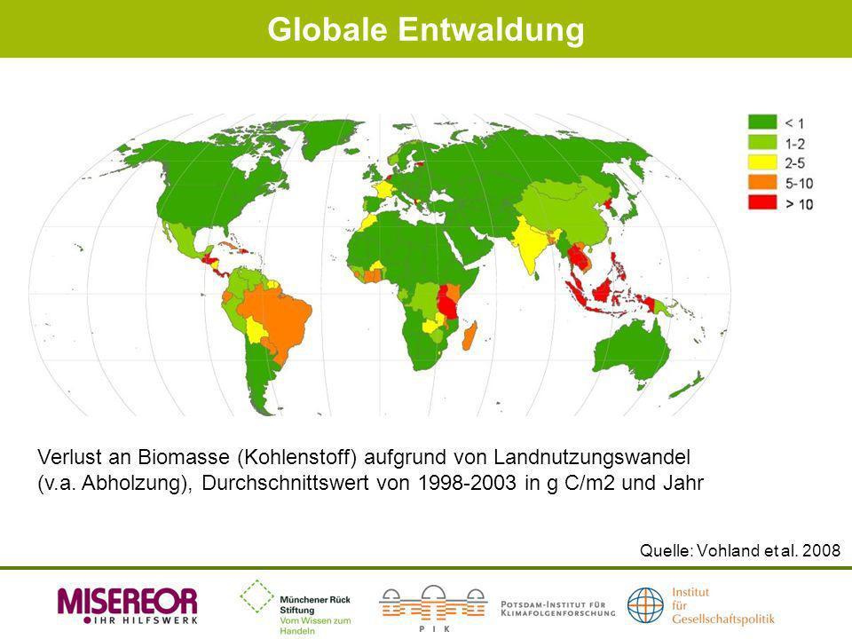 Globale Entwaldung