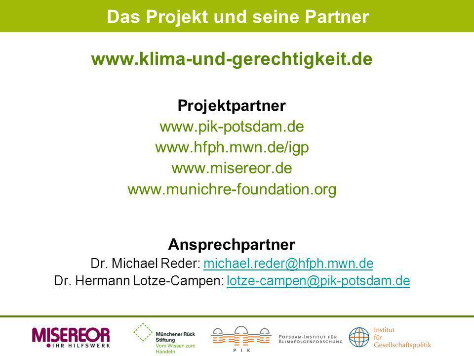Das Projekt und seine Partner