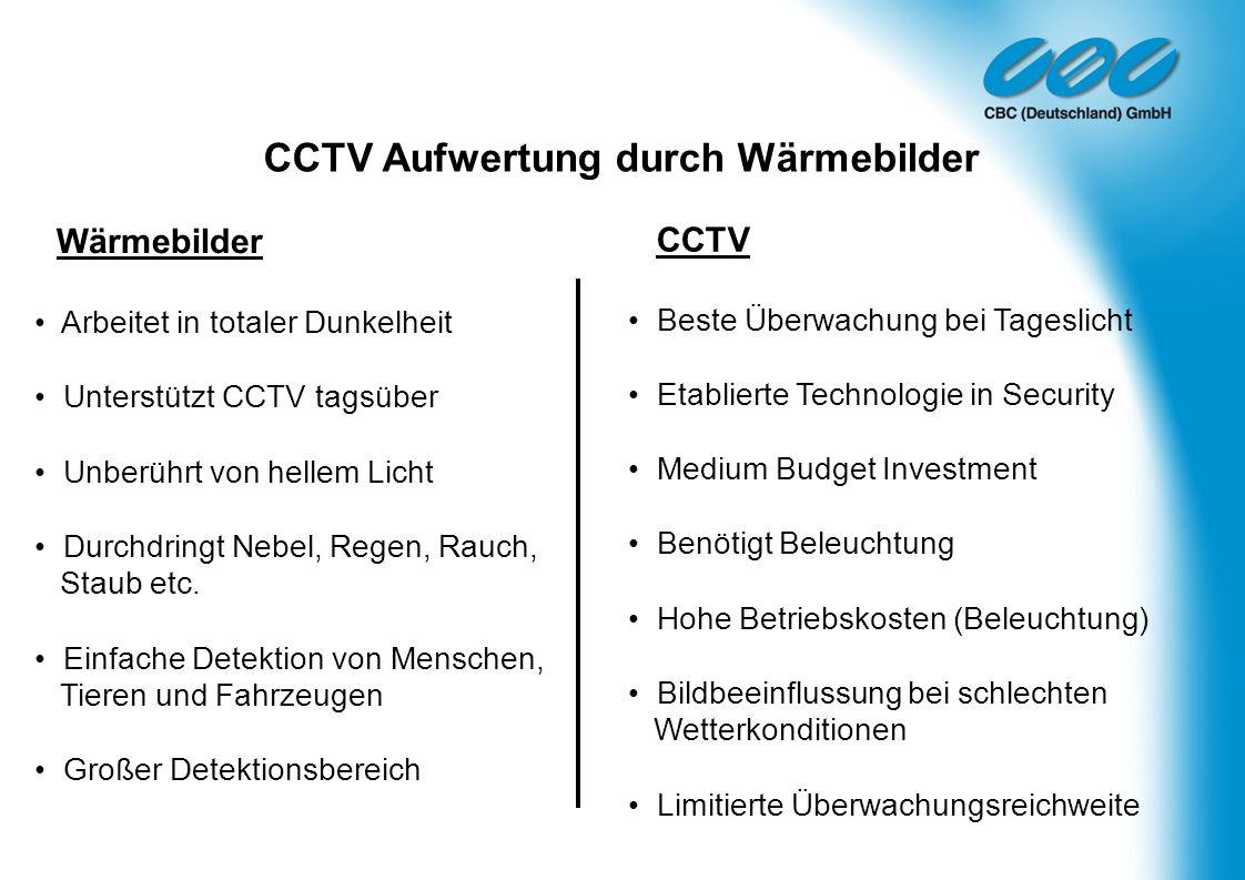 CCTV Aufwertung durch Wärmebilder