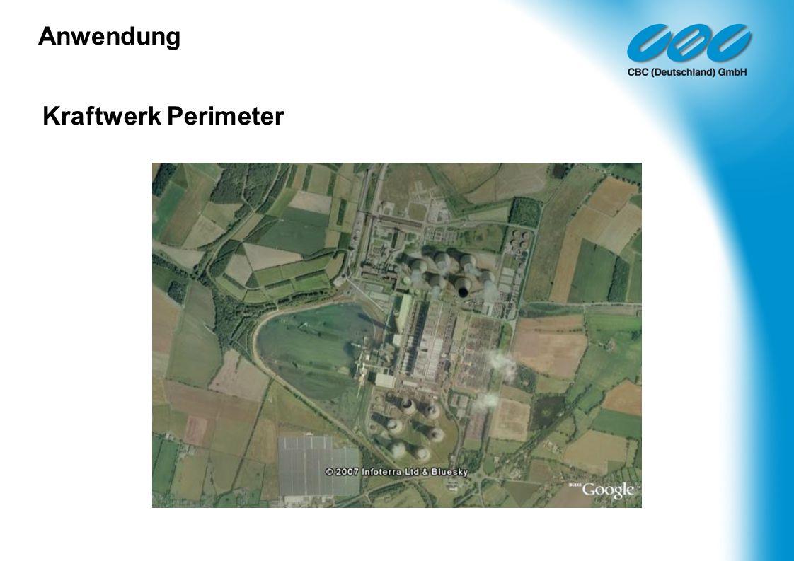 Anwendung Kraftwerk Perimeter