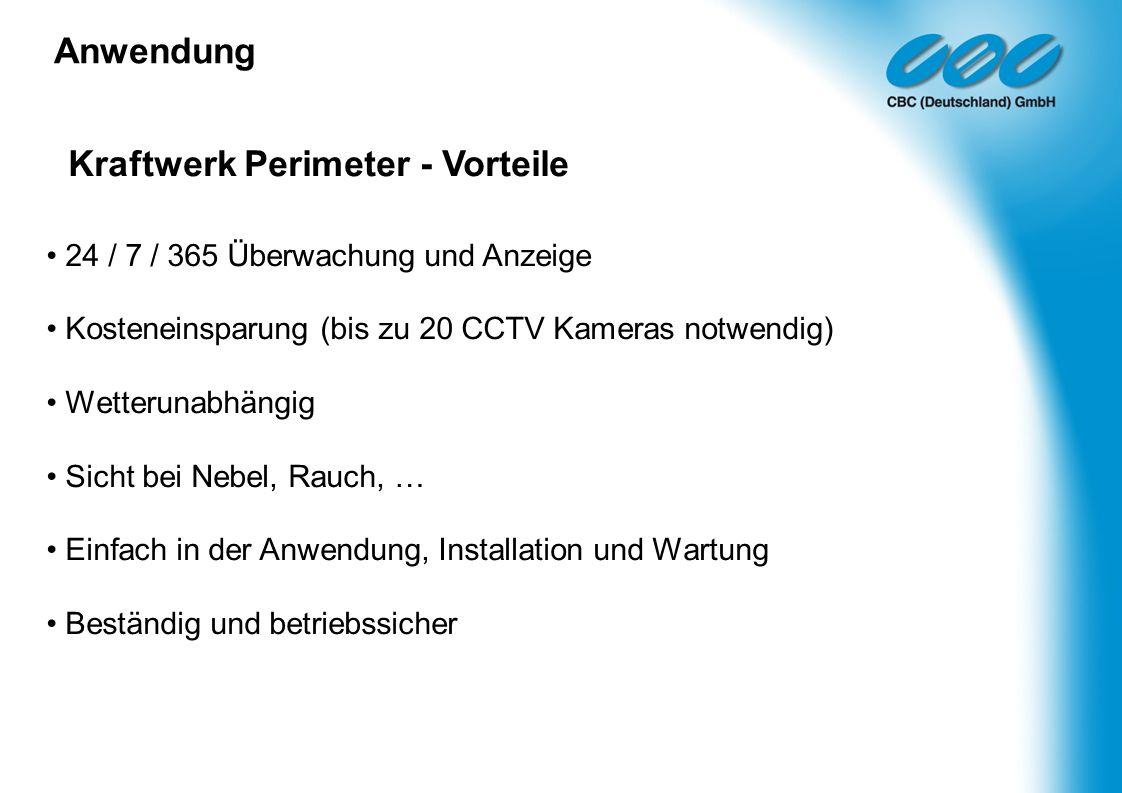 Kraftwerk Perimeter - Vorteile